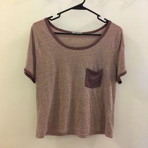 Casual Purple Shirt